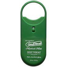 Doc Johnson GoodHead To-Go - Deep Throat Spray - Mystical Mint
