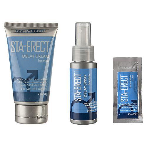 Doc Johnson Sta-Erect For Men-Spray