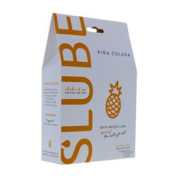 Slube Pina Colada Water Based Bath Gel 500g