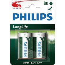 2 Pack C Size Batteries