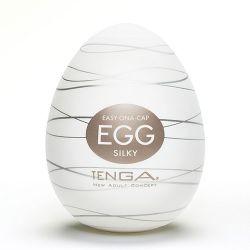 TENGA Silky Egg Shaped Male Masturbator