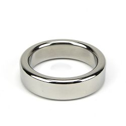 Bound to Please Metal Cock and Ball Ring - 45mm