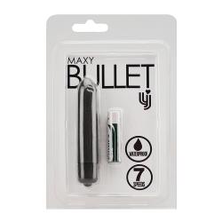 Loving Joy 7 Speed Maxy Bullet Vibrator-'Black'